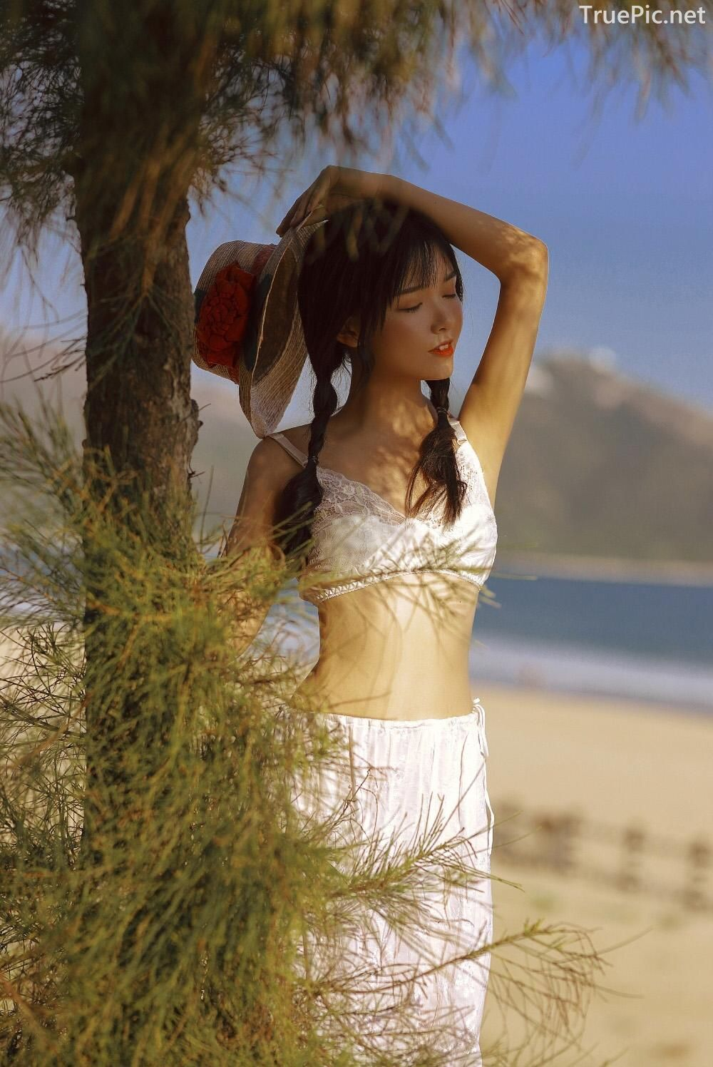 Chinese bautiful angel - Stay with you on a beautiful beach - TruePic.net - Picture 4