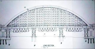 Rencana bekisting dan perancah Jembatan Dolago