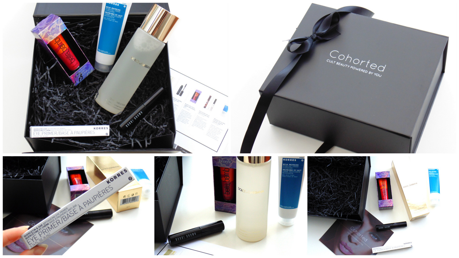 Cohorted Beauty Box: Feb 2015