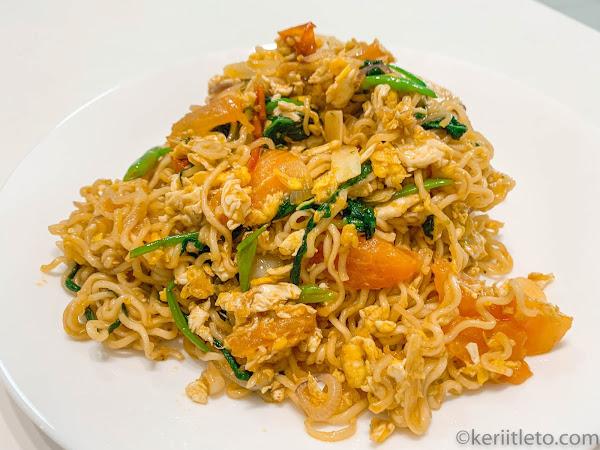 #keriitletokitchen : Maggi goreng ala mamak | Belajar dari YouTube Kay Kitchen