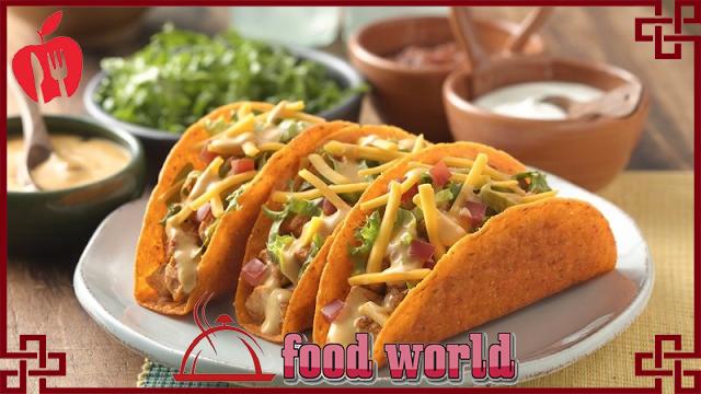 delicious and healthy taco