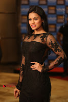 Actress Soniya Stills in Beautiful Black Long Dress at SIIMA Short Film Awards 2017 .COM 0019.JPG