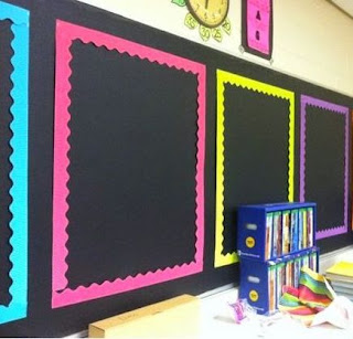 Bulletin board back to school ready for anchor charts