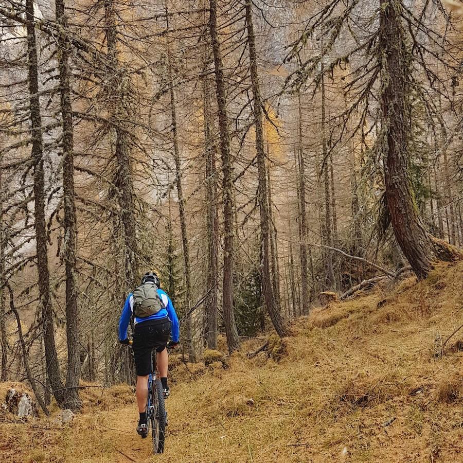 Bike Trails an der Marmolada