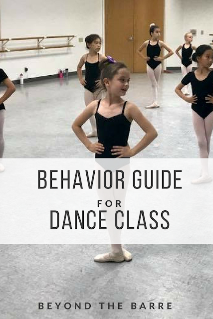 How To Behave In Dance Class