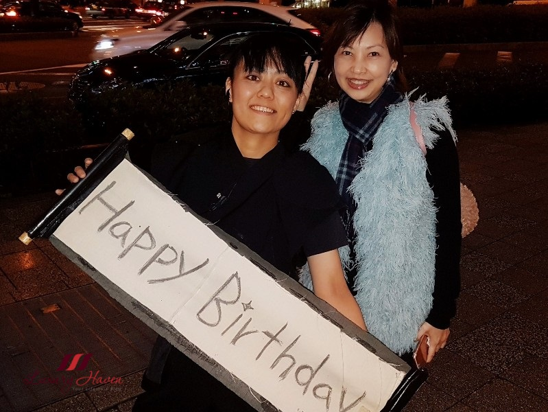 luxury haven ninja akasaka birthday celebration