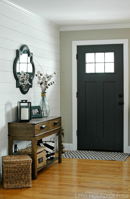 Sherwin-Williams painted front door