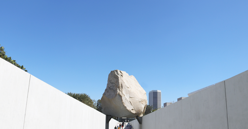 Levitated Mass LACMA Los Angeles