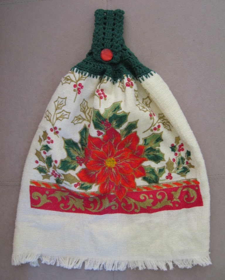 Christmas Kitchen Towels At Walmart: Lupey Loops: Christmas Tea Towels & Other Ideas