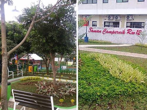 Taman Elektrik dan Taman Campernik di Gedebage