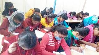 ब्रिलिएंट माइंड क्लासेस में वार्षिक परीक्षा सम्पन्न | #NayaSaberaNetwork