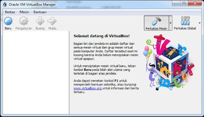 Panduan Instalasi Aplikasi VirtualBox Untuk Menjalankan ARD Madrasah