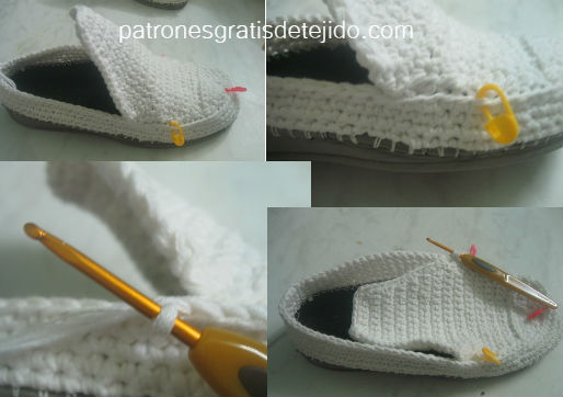 como-se-teje-un-zapato-crochet