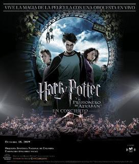 Harry Potter EL PRISIONERO DE AZKABAN en concierto | Bogotá