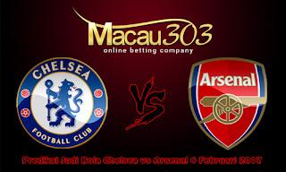 Prediksi Judi Bola Chelsea vs Arsenal 4 Februari 2017