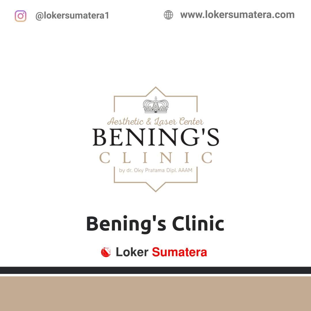 Lowongan Kerja Pekanbaru: Bening's Clinic Februari 2021