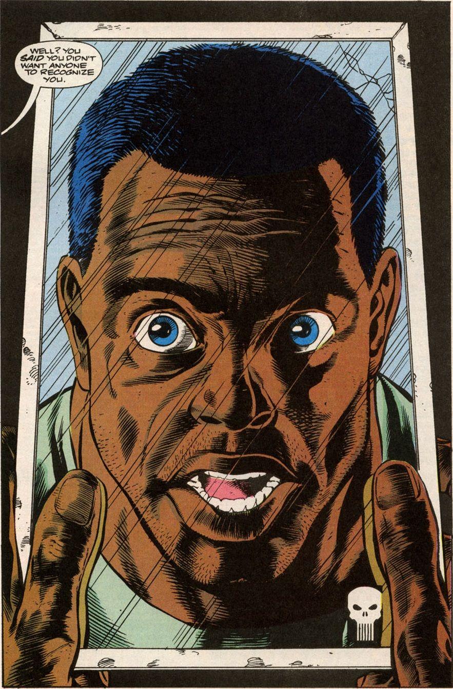 MEMÓRIA EM QUADRINHOS: O dia em que o Justiceiro ficou negro (1991)