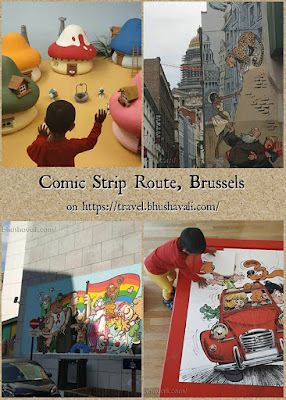 Brussels Comic Strip Route - Photos Pinterest