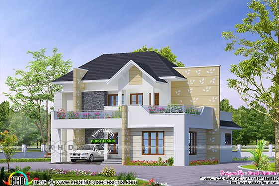 Classical style 4 bedroom grand home design