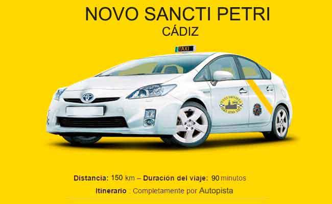 Precio Taxi Sevilla-Novo Sancti Petri