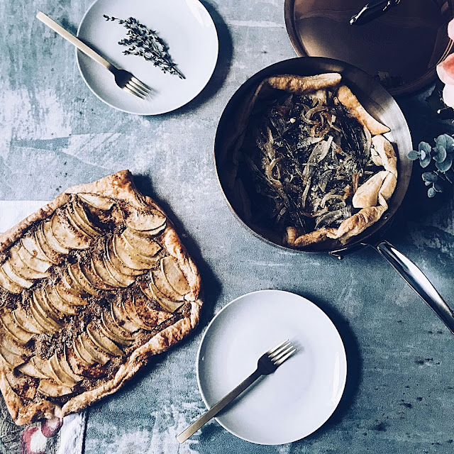 Frangiapane Tart and Truffle Tart in Luxury Copper Pan