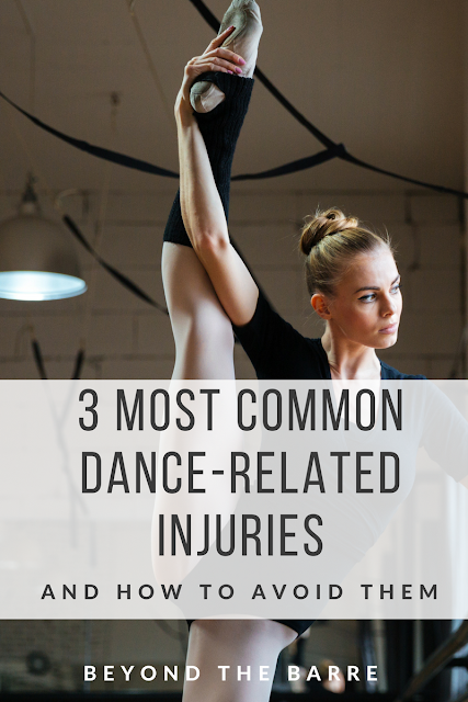 3 Most Common Dance Related Injuries - and how to avoid them