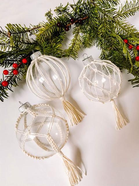reciclar bolas de Natal