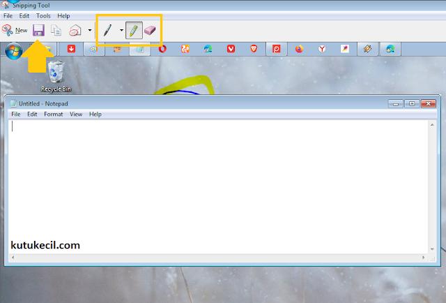 cara screenshot di laptop dell windows 8