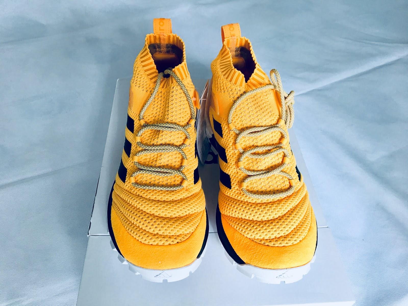 719caa8f4f4 Gosha Rubchinskiy x Adidas Copa PK Mid Orange Sneakers