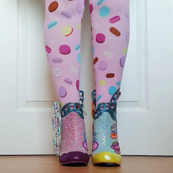 wearing irregular choice glitter ankle boots