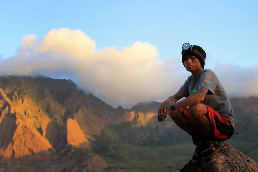 Persiapan ke ramma di puncak tallung rute pendakian bagi para pemula di gunung bawakaraeng