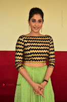 Actress Regina Candra Latest Pos in Green Long Skirt at Nakshatram Movie Teaser Launch  0141.JPG