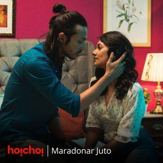Hoichoi new web series Maradonar Juto Releasing This April