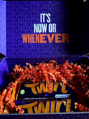 Cadbury's Orange Twirl Promotion