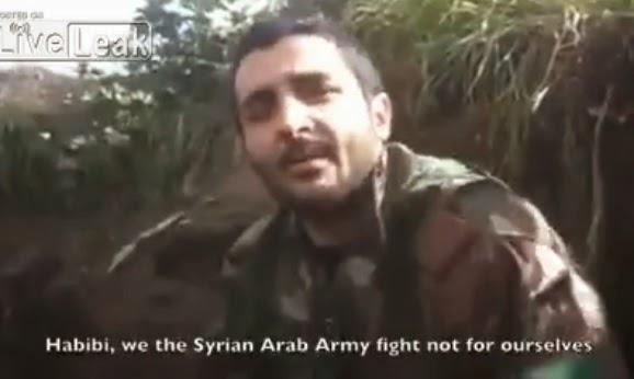 Συγκλονίζει το ΒΙΝΤΕΟ - ΜΗΝΥΜΑ του σύριου στρατιώτη από την πρώτη γραμμή του μετώπου προς τους απανταχού συμπατριώτες του