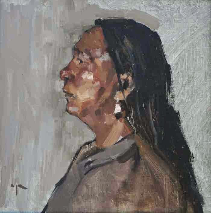 Художница и писатель. Paula Rubino