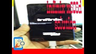 حل مشكله Infinix X606/X606B/ X606D بعد التحديث الهوائى Red State