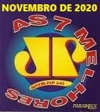 AS 7 MELHORES DA JOVEM PAN FM NOVEMBRO  2020 - PLAYLIST