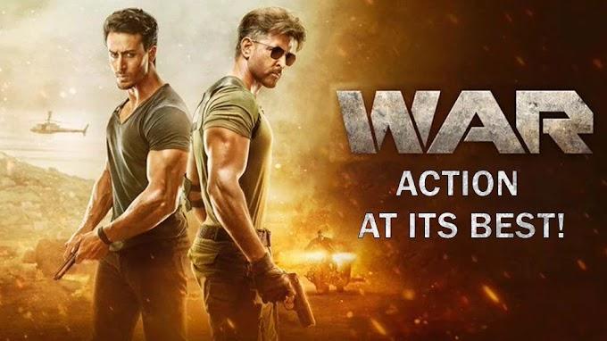 WAR [HINDI] Full Movie Download 720p HD Filmywap - 300mb
