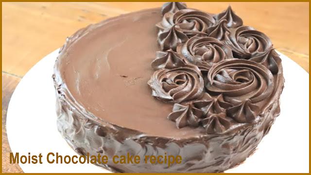 Simple Moist Chocolate Cake Recipe - cooksbeautiful.com