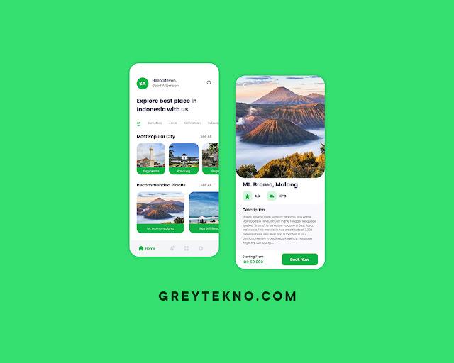 Travelix - Travel App Mobile UI Kits Figma