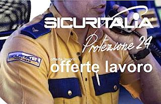 Lavoro Sicuritalia per impiegati e guardie giurate - adessolavoro.com