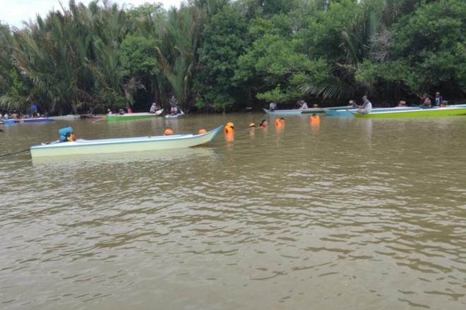 Kapal Nelayan Tenggelam Di Cenrana Bone, 1 Orang Hilang