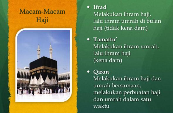 Mengenal Macam-macam Haji Serta Amalan-amalan Haji