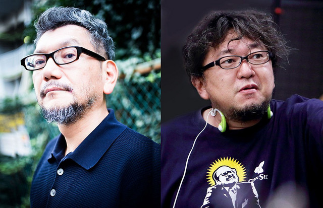 Anno and Shinji