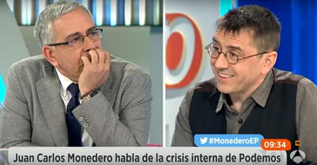 La pregunta de Monedero que enmudeció a cuatro periodistas españoles