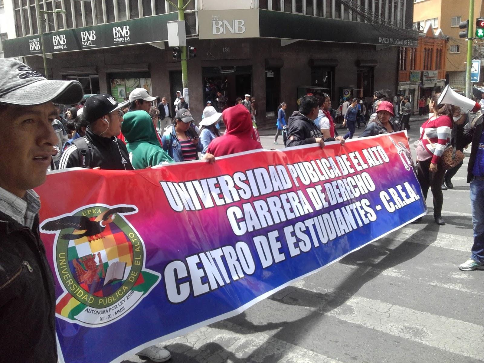 UPEA pide ampliar el 3 por ciento de coparticipación para su presupuesto
