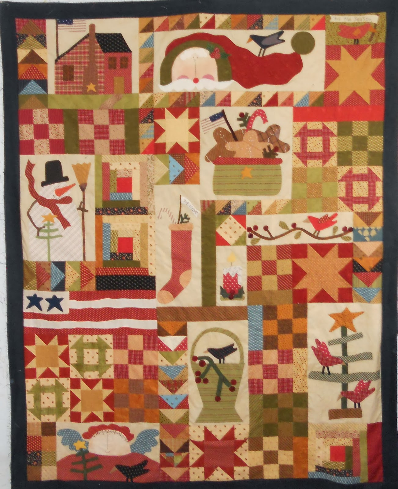 Log Cabin Quilter Christmas Holiday Quilts