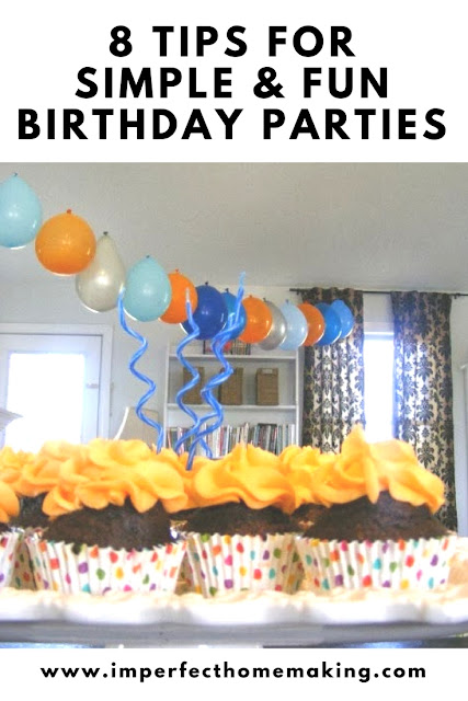 Keep your childs' birthday party simple and stress-free with these tips