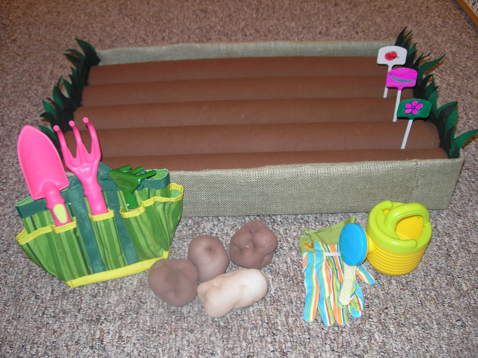 Create With Kiddos Spring Garden Part 1